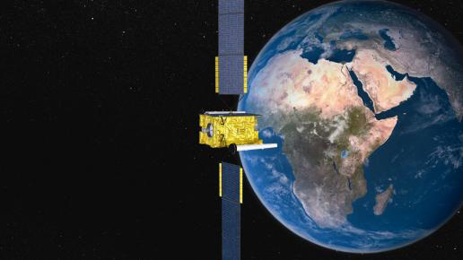 Skynet 5A satellite starts move eastwards