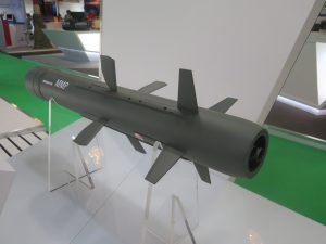 The Medium Range Missile (MMP) from MBDA. (Joseph Roukoz)