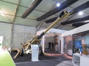 BAEs showcase the M777 Howitzer