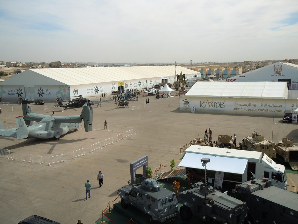 SOFEX 2016 took place at the King Abdullah I Airbase in Amman, Jordan.