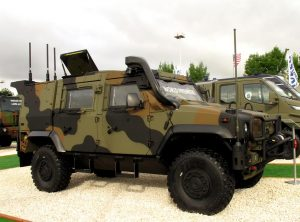 Iveco DV unveiled the next generation of its LMV, known as LMV 2. (P. Valpolini)