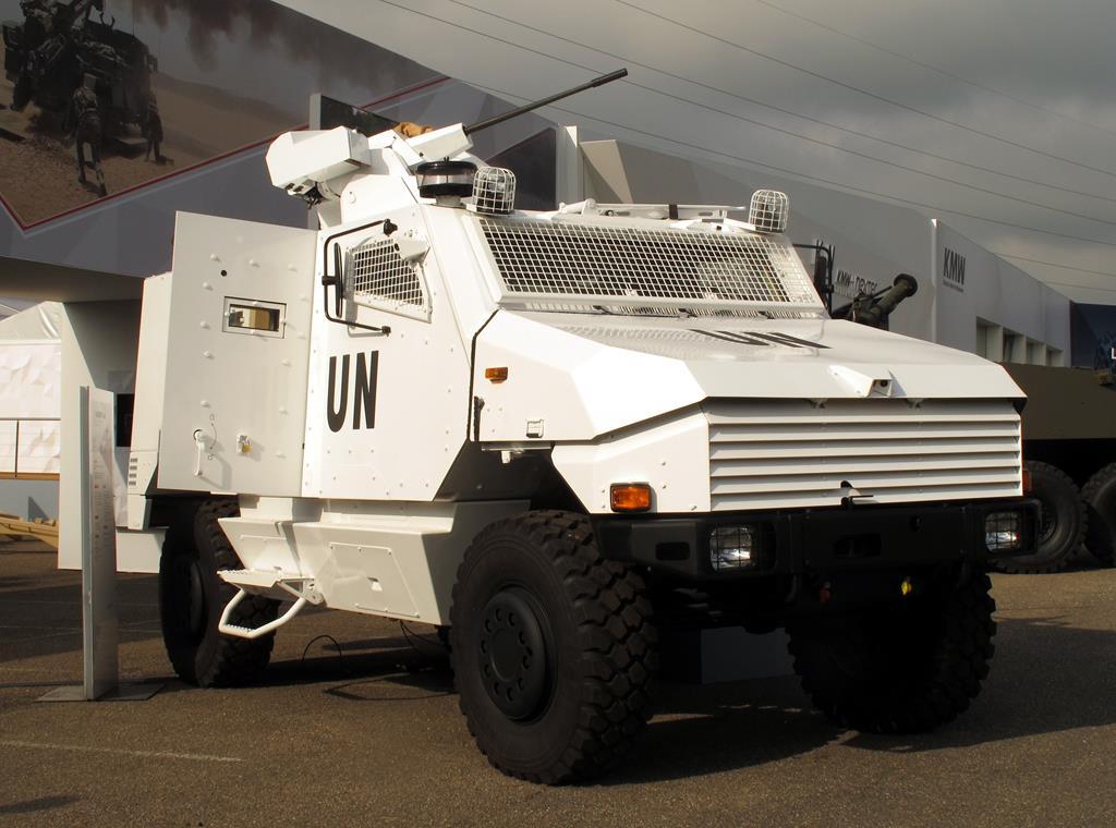 Eurosatory 2016: armoured vehicles parade
