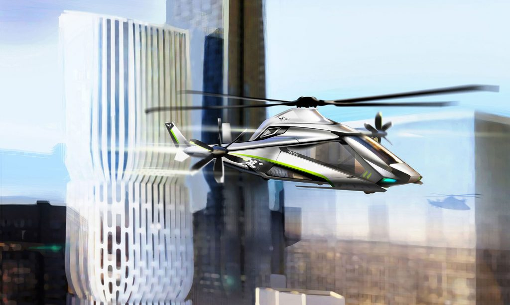 Airbus Helicopters are developing a new high-speed compound helicopter as part of the Clean Sky 2 European research programme. (Airbus Helicopters)