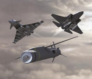 The SPEAR has been designed for being loaded into the F-35 weapons bay but will be available also to the Typhoon. (MBDA)