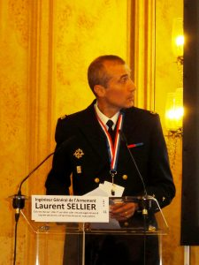 IGA Laurent Sellier of the French Procurement Agency, chief of naval ops at DGA. © J.-M. Guhl
