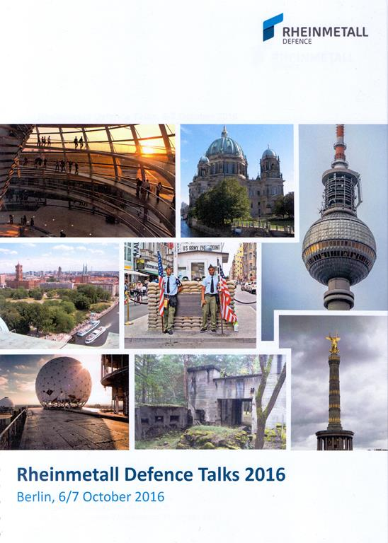 Every single year Rheinmetall organises in Berlin a one day briefing on its latest activities.