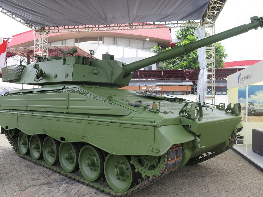 The Marder 1 from Rheinmetall.