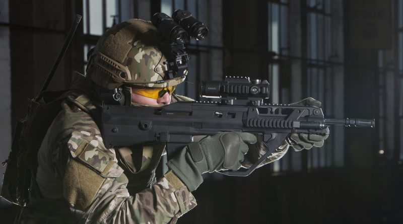 Modern integrated soldiers will rely on Thales's new generation assault rifle – F90MBR