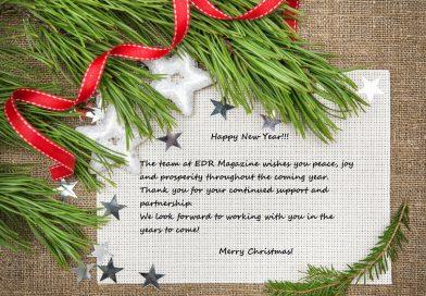 season's greetings from EDR Magazine