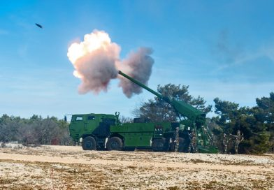Demonstration of Strength for Nexter's Artillery