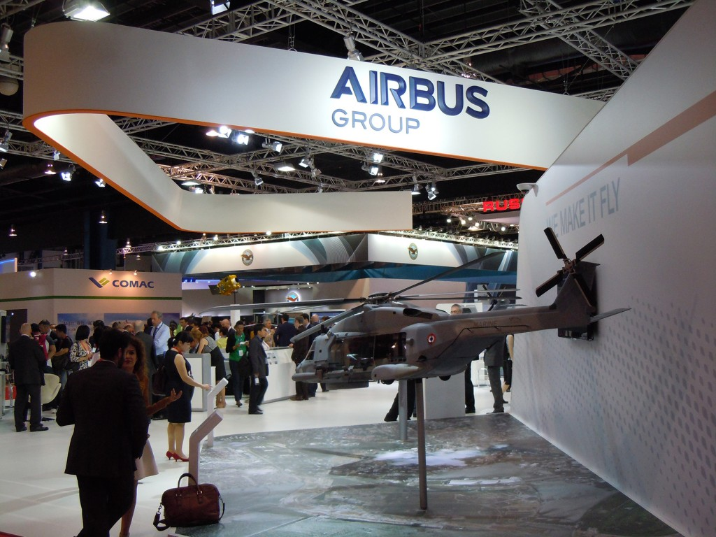 Airbus stand