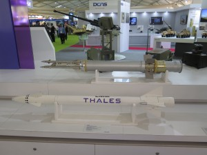 The STARStreak missile from Thales