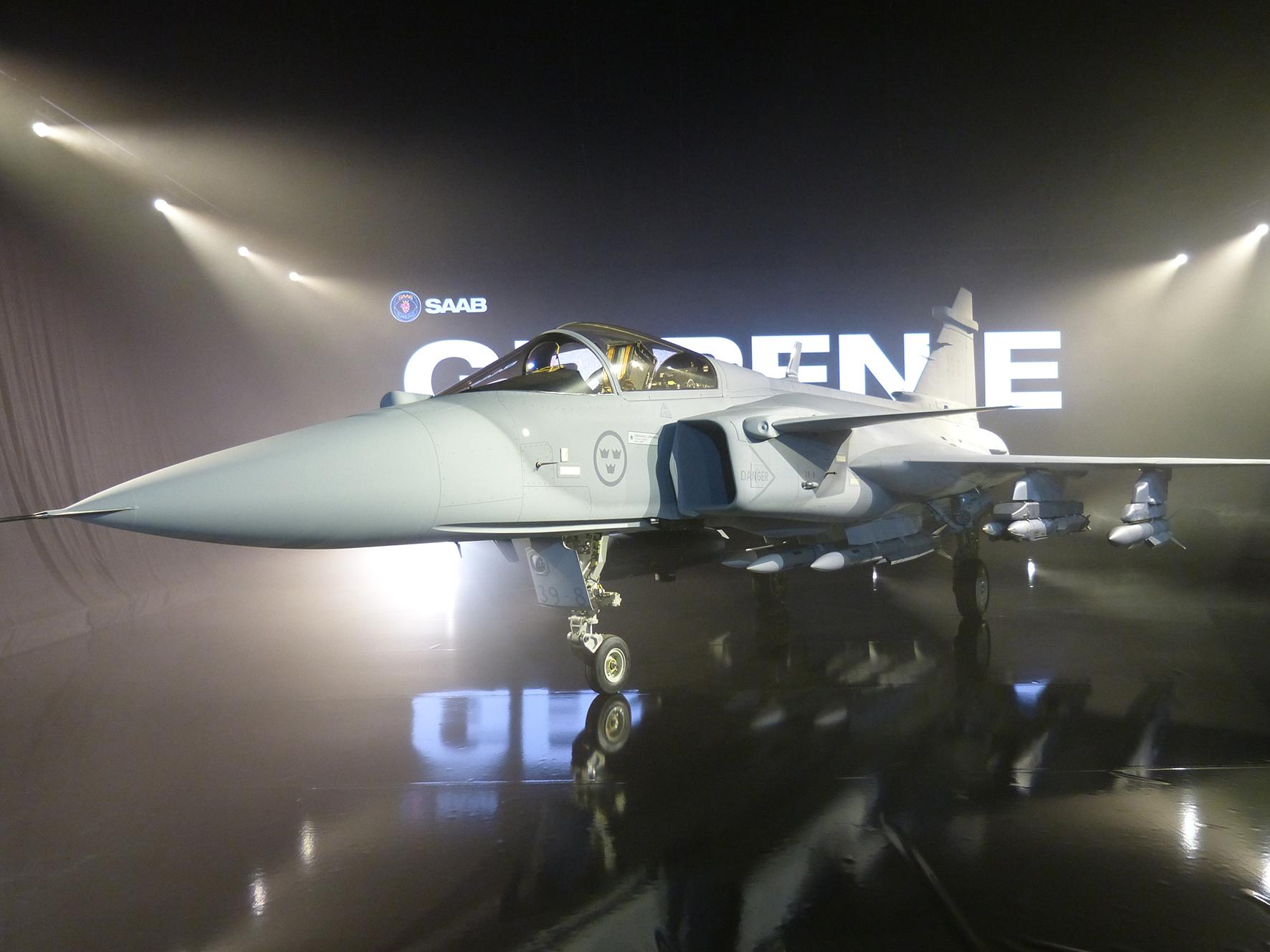 Gripen E, the Smart Fighter Unveiled - EDR Magazine