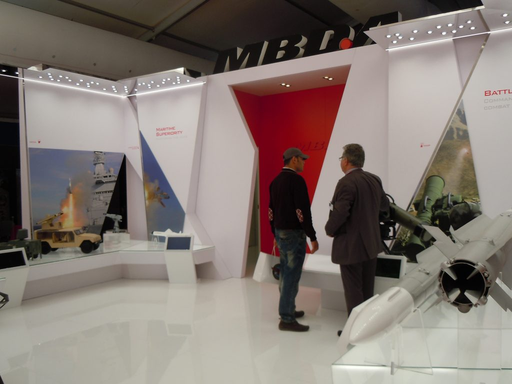 MBDA were promoting its Maritime Superiority systems in Morocco. (David Oliver)