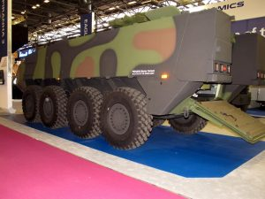 GDELS Piranha 3+ will be deployed as a mortar carrier by the Swiss Army. (P. Valpolini)