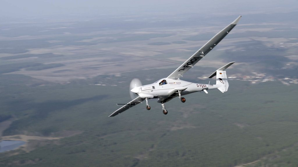 The first flight of the Q01 took place last November and the innovative ISR aircraft was displayed at ILA. (RS-UAS)