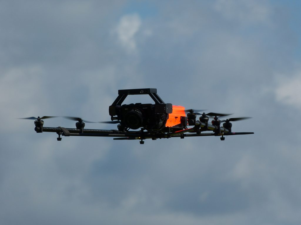 Airbus is evaluating drones for aircraft damage inspection an evaluation.
