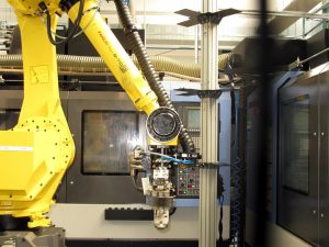 Robotisation allows to maintain a high production rate while constantly improving quality. (P. Valpolini)