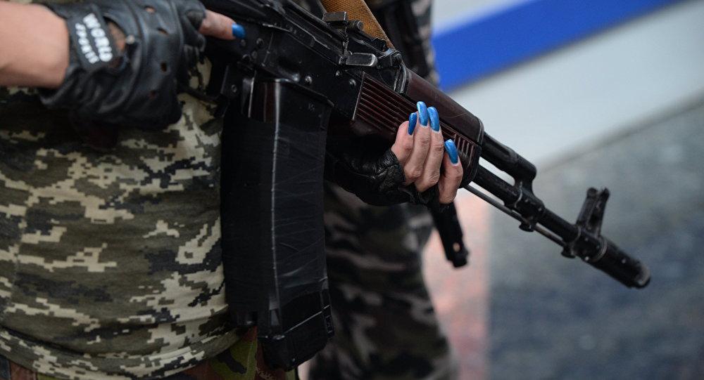 The legendary Kalashnikov assault rifle.
