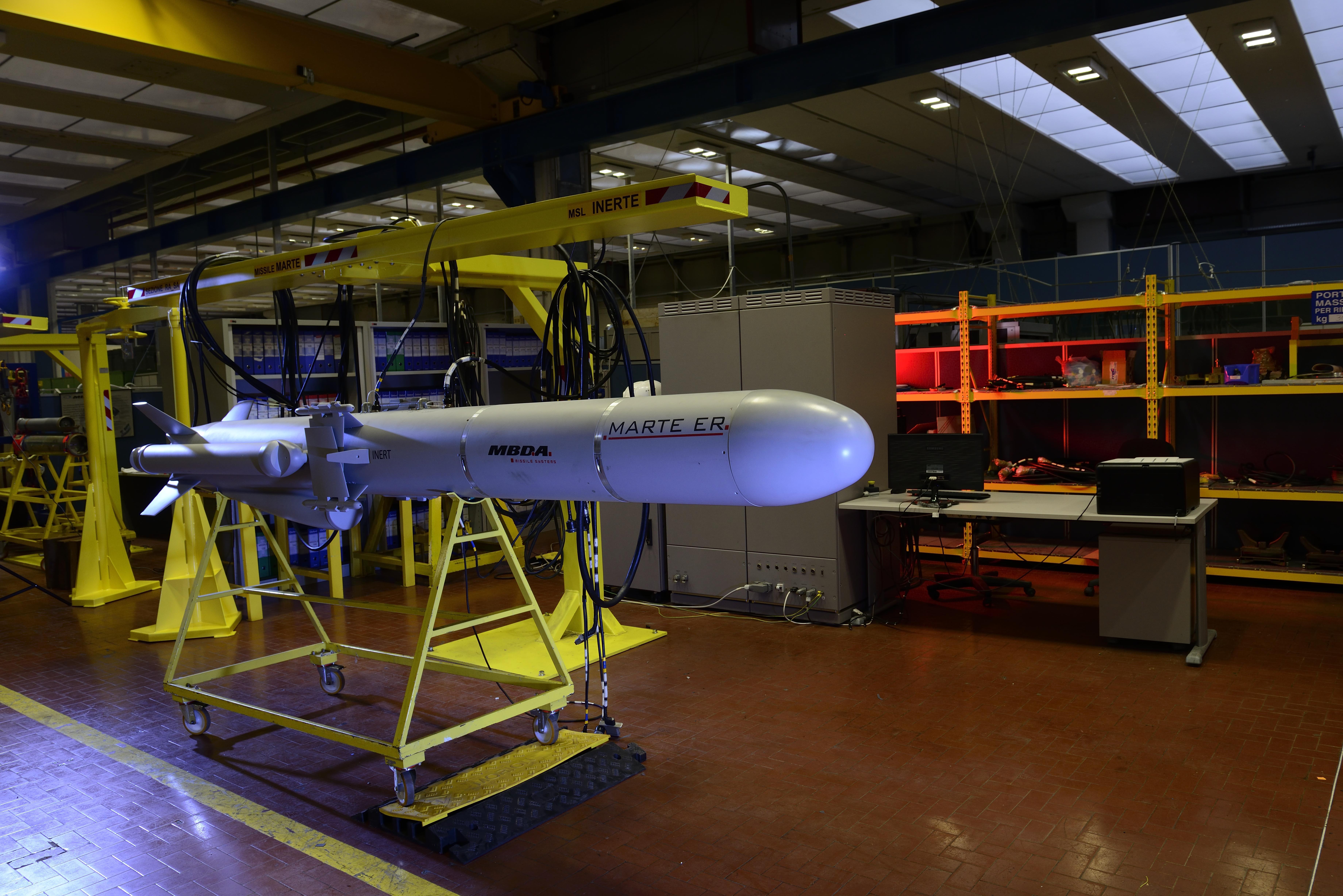 Mbda Italia Masters The Naval Anti Surface Warfare Asuw