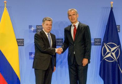 Colombian president visits NATO H.Q. in Brussels