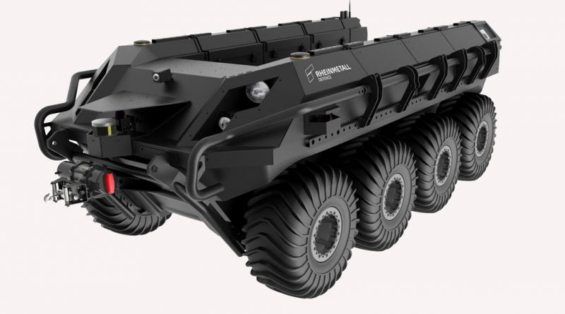 Rheinmetall unveils its production UGV - EDR Magazine
