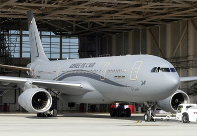 First Airbus A330 MRTT « Phénix » joins the French Air Force