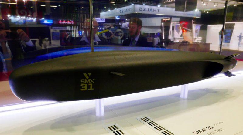 Naval Group unveils SMX 31 radical future underwater