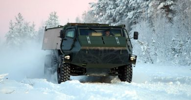 Driving the new Patria 6×6: even too easy!