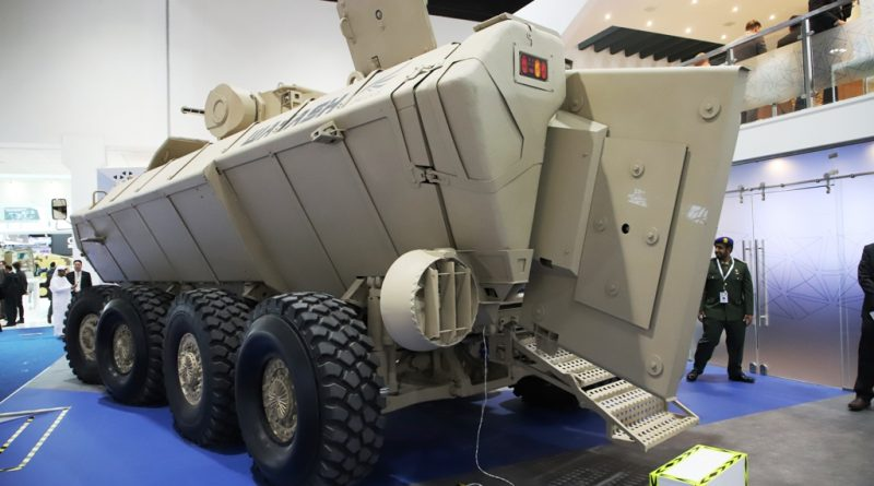 Idex 2019 Wahash An 8x8 Made In The Uae For The Uae