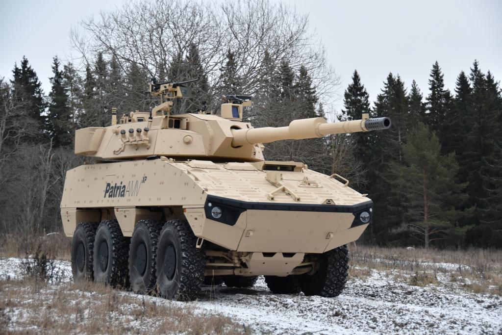 Slovakia and Finland agree on customised Patria AMV - Land
