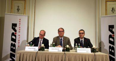MBDA Italy Press Conference