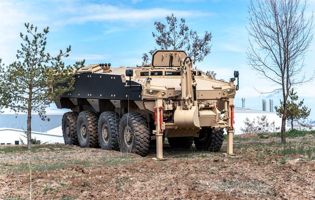 FNSS Reveals PARS III 8x8 Engineering Vehicle - EDR Magazine