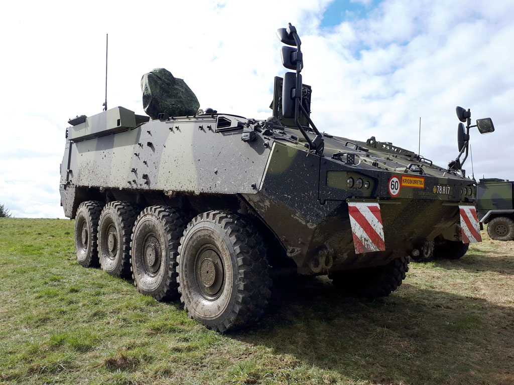 Danish Army Receives First Piranha 5 And Eagle 5 Wheeled Armoured Vehicles Edr Magazine