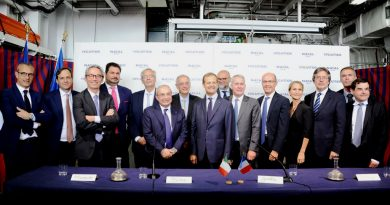Fincantieri and Naval Group sign the joint venture agreement