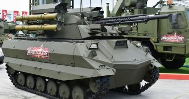 Russia to export armed ground robots