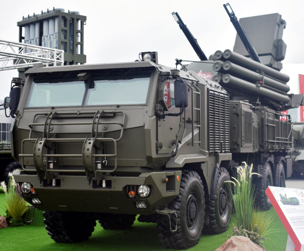Russia showcases upgraded Pantsir-S1M SPAAGM - EDR Magazine