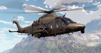 Leonardo AW169M type certified by Italian ARMAEREO
