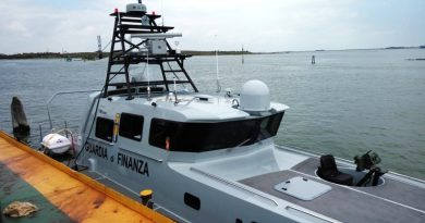 IAI provides MiniPOP EO/IR system to FB Design for Italy's Guardia di Finanza new fast patrol boats