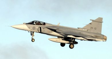 Saab Gripen E/F programme ramps-up and looks to new customers