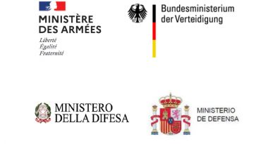 France, German, Italian and Spanish Defence Ministers reaffirm their strong commitment to Europe