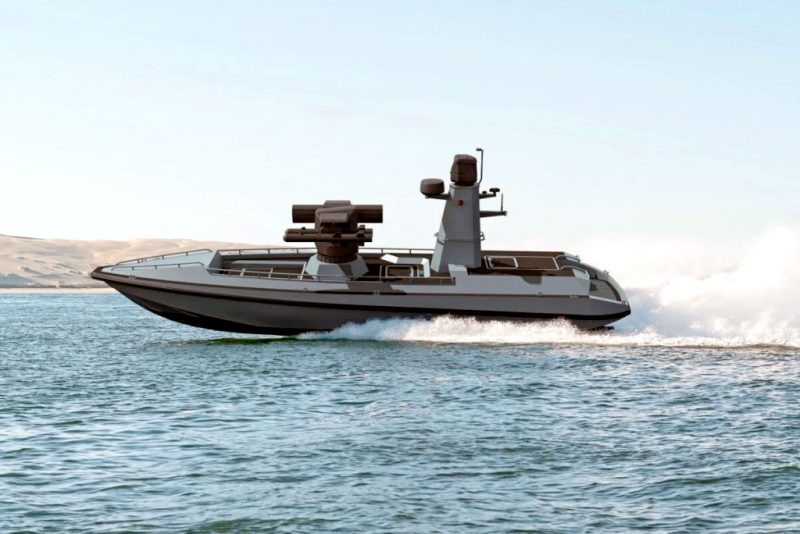 """Turkey's first armed Unmanned Surface Vehicle """"Ulaq"""" will be the new  guardian of the blue homeland. - EDR Magazine"""