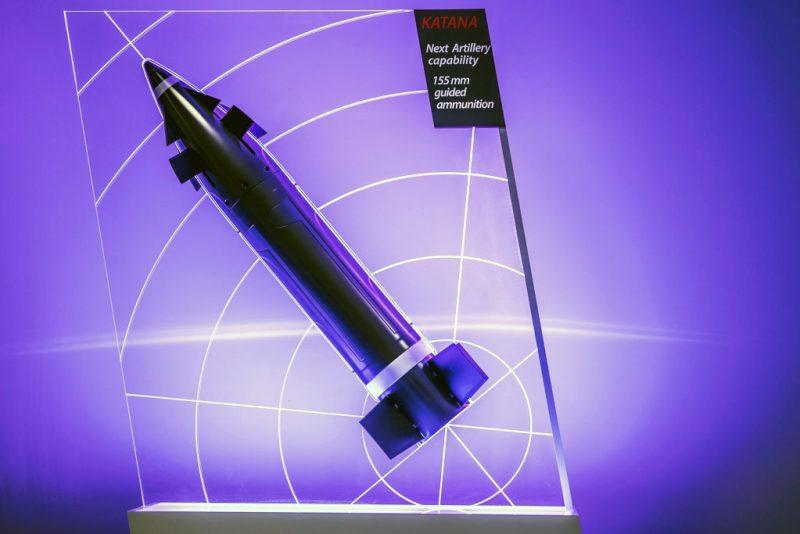 Nexter Munitions: first successful piloted firings for artillery shell 155  KATANA - EDR Magazine