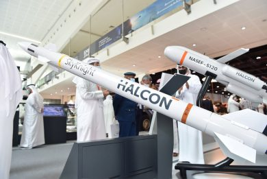 Halcon and Rheinmetall Air Defence team up for the Skynex