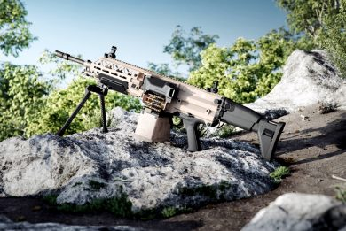 FN details its EVOLYS super-light MGs