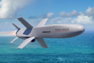 MBDA details its new Teseo Mk2/E anti-ship missile